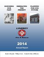 2014 LVFD Annual Report Cover