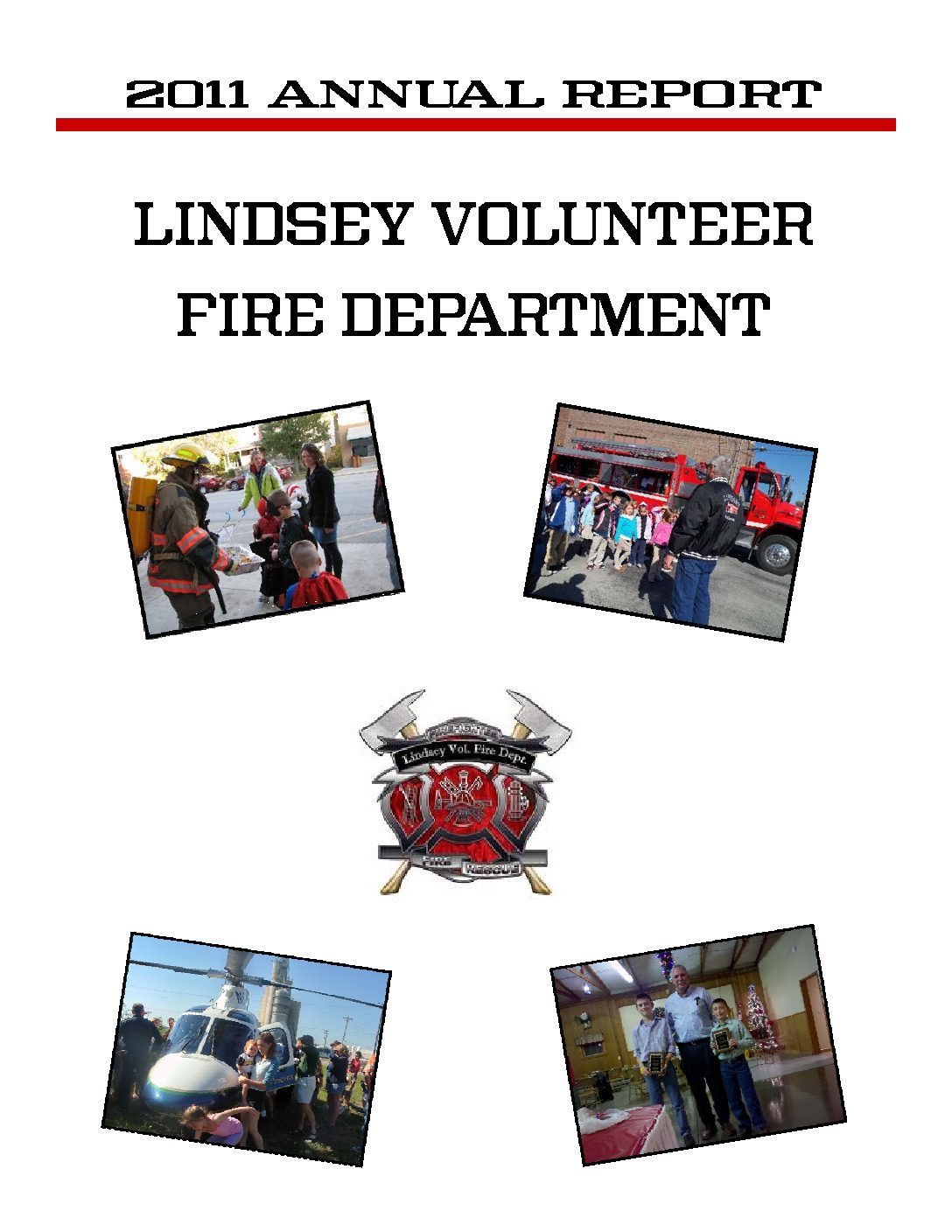 2014 LVFD Annual Report Cover