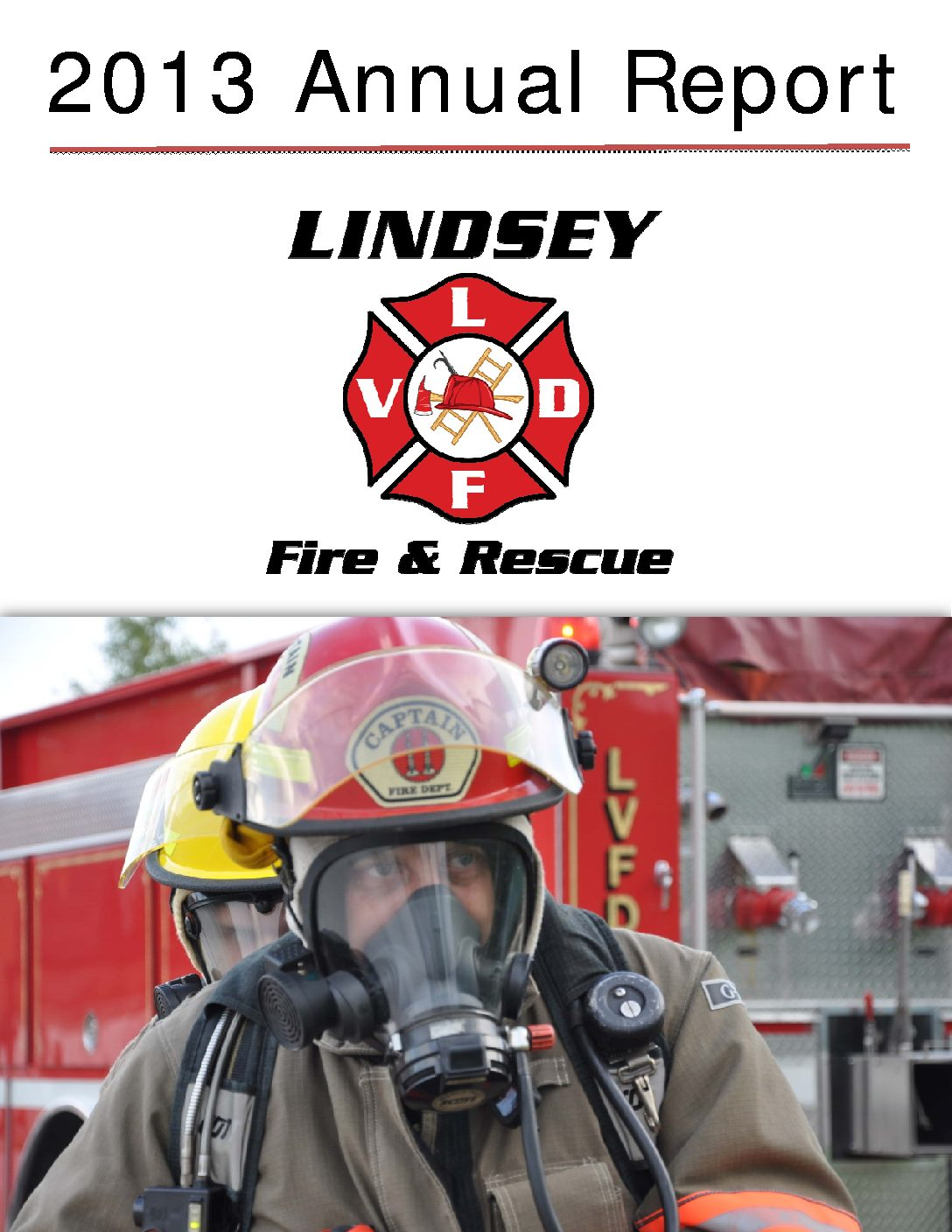 LVFD Annual Report Cover